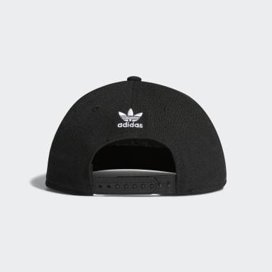 Originals Black Trefoil Chain Snap-Back Cap