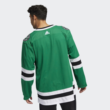 Men's Hockey Green Stars Home Authentic Jersey
