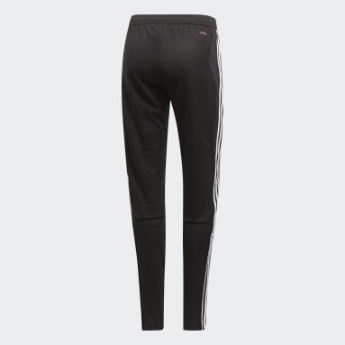 Women Soccer Black Tiro 19 Training Pants