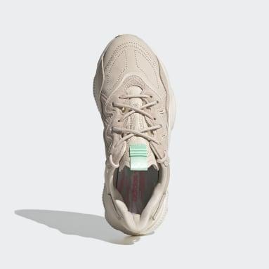 Kvinder Originals Beige OZWEEGO sko
