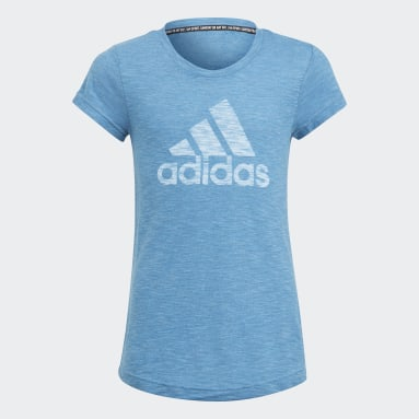 T-shirt Must Haves Bleu Filles Fitness Et Training