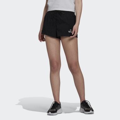 ผู้หญิง Originals สีดำ กางเกงขาสั้น Triple Trefoil