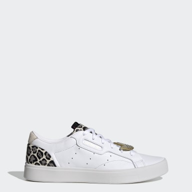 Women's Originals White adidas Sleek Shoes