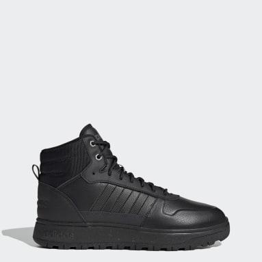 черный Ботинки Frozetic