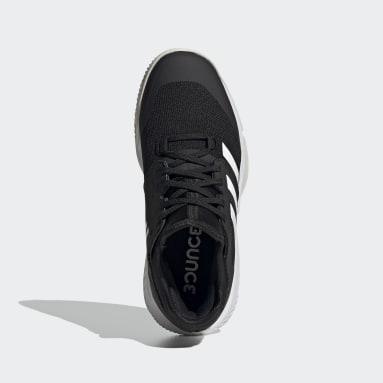 Women Netball Black Court Team Bounce Indoor Shoes