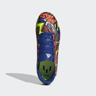 Chaussure Nemeziz Messi 19.4 Multi-surfaces Bleu Enfants Soccer