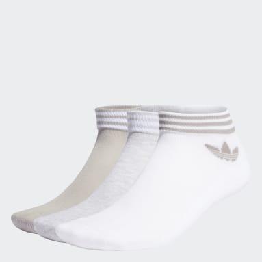 белый Три пары носков Trefoil