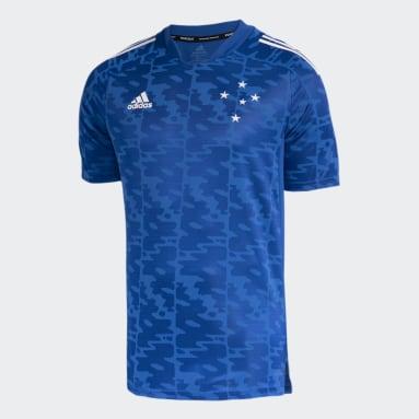 CAMISA PRÉ JOGO CRUZEIRO Azul Homem Futebol