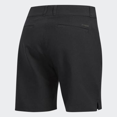 Women Golf Black Ultimate Club 7-Inch Shorts