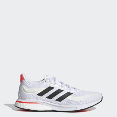 Women Running White Supernova Tokyo Shoes