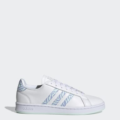 Tenis adidas Grand Court Blanco Mujer Diseño Deportivo