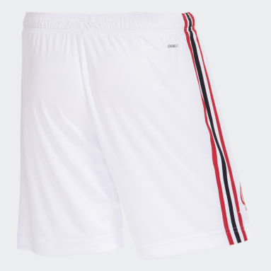 Shorts 1 CR Flamengo 21/22 Branco Homem Futebol