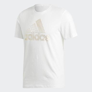 MH BOS FOIL TEE Blanco Hombre Diseño Deportivo