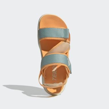 Women TERREX Orange Terrex Sumra Sandals