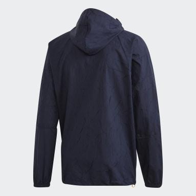 Casaco Primeblue adidas W.N.D. Azul Homem Sportswear