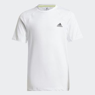 Youth 8-16 Years Gym & Training White XFG AEROREADY Slim Sport T-Shirt