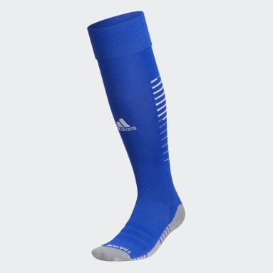 Training Blue Team Speed Soccer OTC Socks