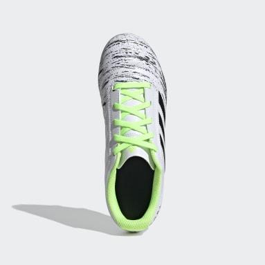 Zapatos de Fútbol Copa 20.4 Terreno Firme Blanco Niño Fútbol