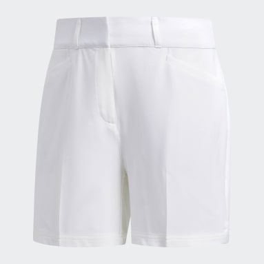 Women's Golf White Ultimate Club 5-Inch Shorts