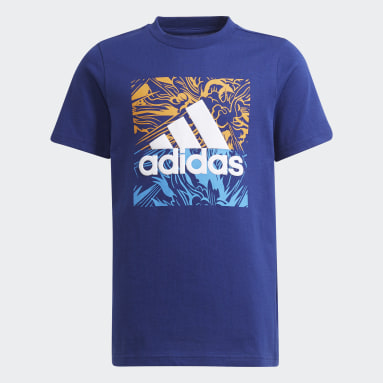Youth Training Blue Graphic Tee