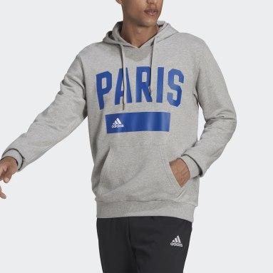 Sudadera con capucha Paris Collegiate Series Gris Hombre Sportswear