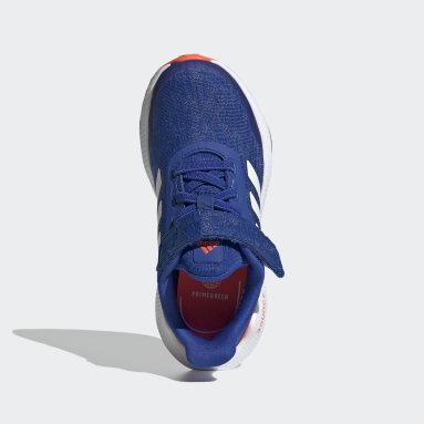 Zapatilla EQ21 Run Azul Niño Running