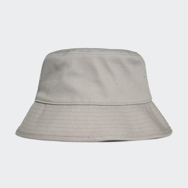 Originals Grey Trefoil Bucket Hat