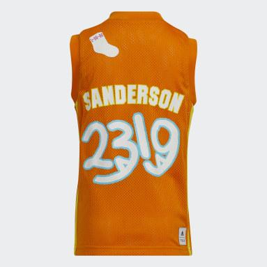 Kids Basketball Orange Little Kids George Sanderson Jersey
