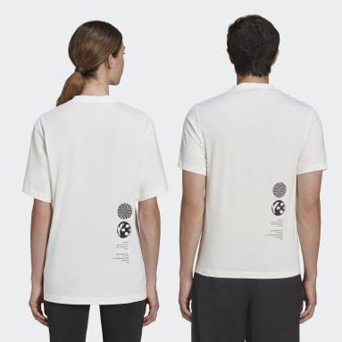 Y-3 White Y-3 Zine Page-1 T-Shirt