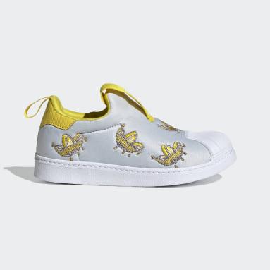 Kids Originals Grey Superstar 360 Shoes
