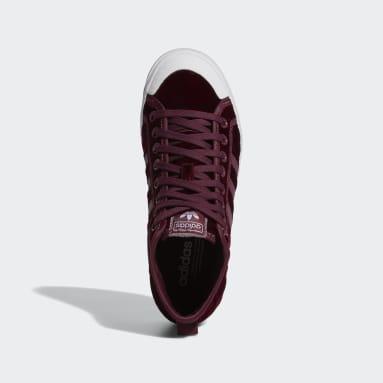 Women Originals Brown Nizza Platform Mid Shoes