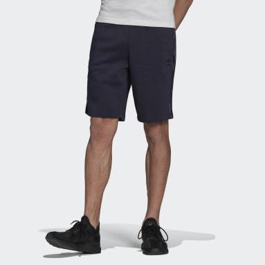 Men Originals Blue Graphics Camo Shorts
