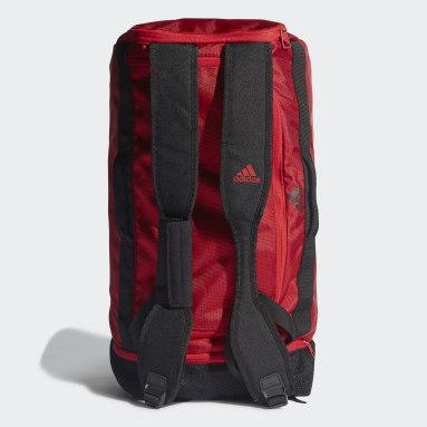 Football Red Manchester United Duffel Bag Medium