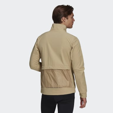 Veste The COLD.RDY Trackstand Cycling Beige Hommes Cyclisme