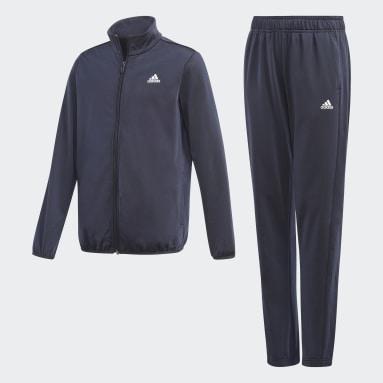 Jungen Sportswear adidas Essentials Trainingsanzug Blau