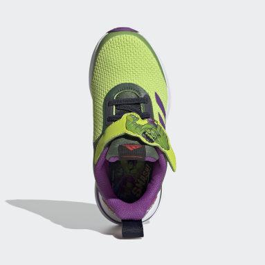 Kids Running Green FortaRun Super Hero Shoes