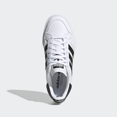 Youth 8-16 Years Originals White Team Court Shoes