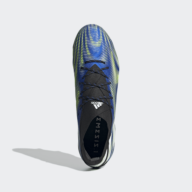 Botas de Futebol Nemeziz.1 – Piso mole Azul Futebol