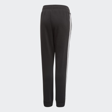 Děti Originals černá Kalhoty 3-Stripes