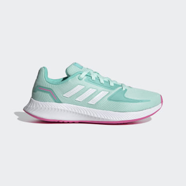 Kids Running Turquoise Runfalcon 2.0 Shoes
