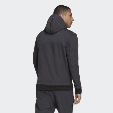 Muži Sportswear Siva Mikina skapucňou adidas Z.N.E. Sportswear COLD.RDY