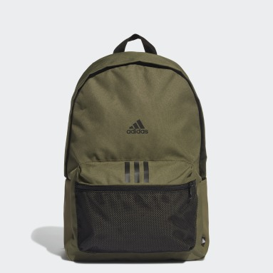 Lifestyle Green Classic Badge of Sport 3-Stripes Backpack