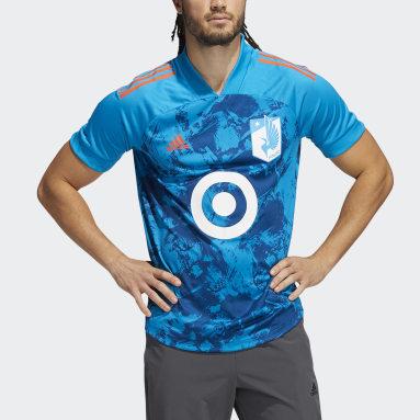 Men's Soccer Blue Minnesota United FC Condivo Jersey