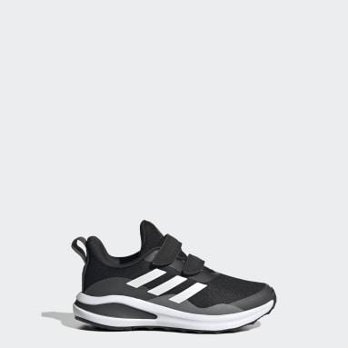 Chaussure de running FortaRun Double Strap Noir Enfants Running