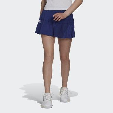 Women's Tennis Blue Tennis Match Skirt