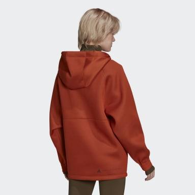 Frauen adidas by Stella McCartney aSMC TL HOODIE Braun