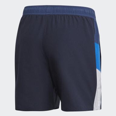 Mænd Vandsport Blå Colourblock CLX badeshorts