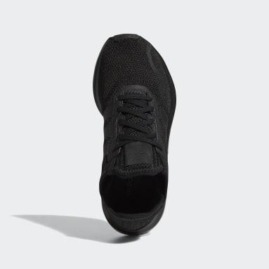 Kids Originals Black Swift Run X Shoes