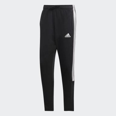 Pantalón Must Haves 3 Rayas Tiro Negro Hombre Sportswear