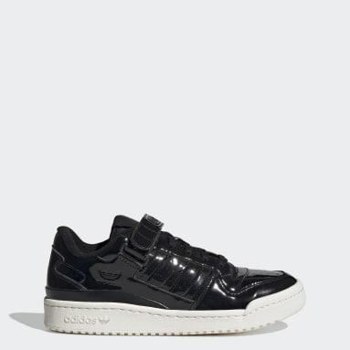 Women Originals Black Forum Low Shoes